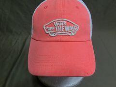 バンズ OFF THE WALL スケボー ロゴ刺繍付 メッシュキャップ