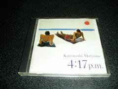 CD「森園勝敏/4:17 p.m.」85年盤 即決