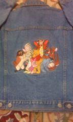 ディズニーストアー購入クマのプーさんと仲間達全刺繍未使用
