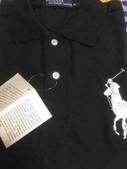 ラルフローレン半袖ポロシャツ【黒】新品未着用品