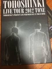 東方神起 LIVE TOUR 2012 TONE DVD