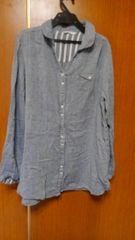 �Bガーゼ見たいな、柔らかさの生地のシャツ