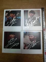 韓国 2AM 直筆サイン写真