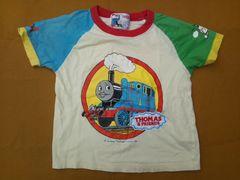 子供用100cm:機関車トーマスTシャツ