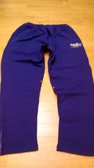 KAZZROCKカズロック 厚手スウェットパンツ 紫色サイズ2XL XXL