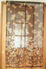 送料無料 更紗のれん 和柄暖簾 飲食店装飾 模様替え japan