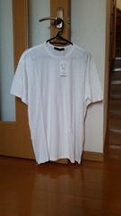 AZUL アズールバイマウジースラブ天竺 裾ZIPクルーネックTシャツ