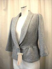 【Lente】【未使用品】ヘリボーンのジャケットコートです