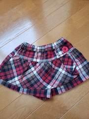 ☆美品☆3can4onサンカンシオン☆キュロットミニスカート☆90
