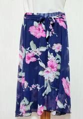♪新品♪花柄スカート�B裏地ショートパンツ付き♪ちょいセクシー