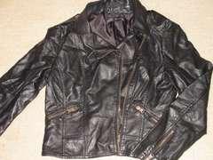ZARAザラ*レザーライダースジャケット*ブラック*Lサイズ