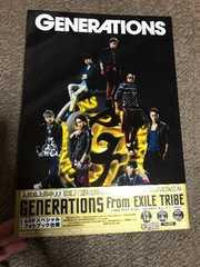 GENERATIONS1stアルバム/ SPEEDSTERスクラッチ特典ステッカー付