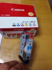 新品 CANON純正品BCI-6  シアン