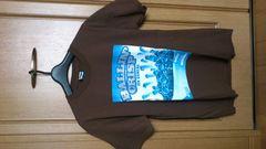 訳あり激安89%オフセレクトショップ、Tシャツ(美品、茶、メキシコ製、M、)