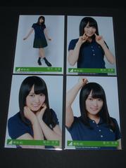 欅坂46 風に吹かれても 生写真4枚コンプ 菅井友香