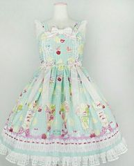 アンプリ☆Dreamy parfeitジャンパースカート☆ミント