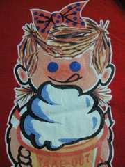 ソフトクリーム メーカー NISSEI 日世 セイチャン デザイン Tシャツ レッド Lサイズ アイス