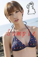 【送料無料】 AKB篠田麻里子 写真5枚セット<サイン入>28