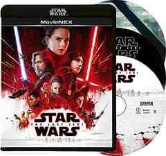 新品/スターウォーズ 最後のジェダイ MovieNEX ブルーレイ+DVD+デジタルコピー