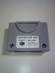 ■即決■ニンテンドー64コントローラパック■任天堂N64ロクヨンゲームデータセーブロード■