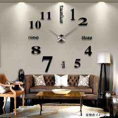 巨大 壁時計!オシャレでお店のインテリアにも 新品