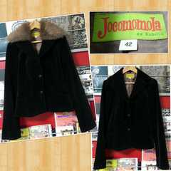 Jocomomola de Sybilla ホコモモラ デ シビラ ベロアジャケット 42 美品
