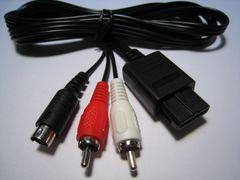 【送込】GC・SFC・N64用 新品互換「S端子ケーブル」