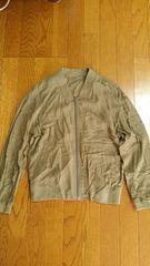 GU薄手カーキMA-1未使用ジャケット
