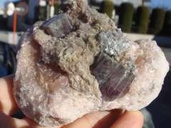 アラゴナイト母岩付 スペイン産<霰石> ∞64