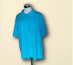 水色ポロシャツ3L