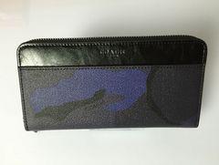 COACH 新品 コーチ F75099 長財布 迷彩 メンズスサイフ