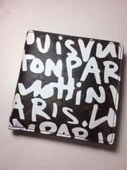 Louis Vuitton モノグラム×グラフィティ 短財布 二つ折り