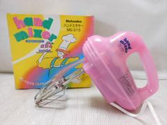 5016☆1スタ☆Matsuden ハンドミキサー MS-315 収納ケース付き