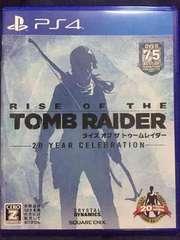送料込み ライズ オブ ザ トゥームレイダー PS4