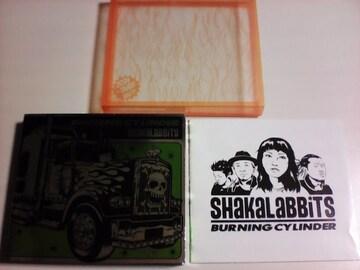 即決 2CD+DVD バーニングシリンダー シャカラビッツ / ライブ 音源 BEST