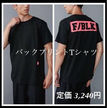 定価3,240円 バックプリントTシャツ 【新品】COTORICAコトリカ M
