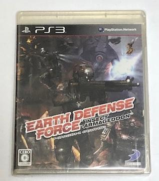 PS3 アースディフェンスフォース インセクト アルマゲドン