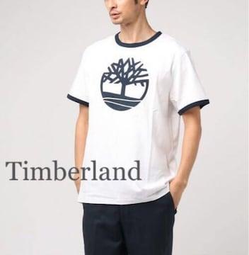 定価4,860円 Timberland【新品】ティーツリーロゴ入りTシャツ