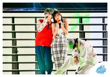 公式生写真 AAA 宇野実彩子&末吉秀太 M-4 GURUポン! 2019 +PLUS