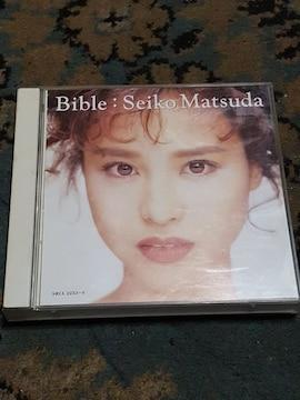 松田聖子 Bible 2枚組ベスト