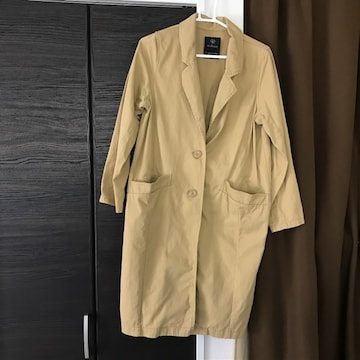 ダブルクローゼット丈100身幅42サイズFフリーw closetコート