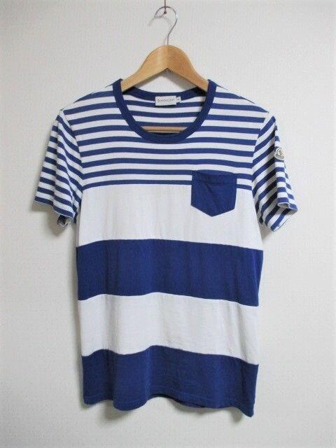 ☆MONCLER モンクレール マリンカラー Tシャツ/メンズ/S☆国内正規品  < ブランドの