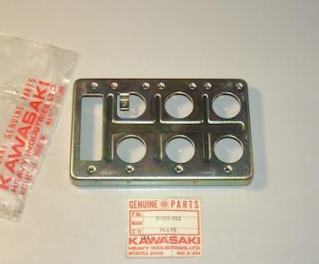 カワサキ 500SS H1D H1-D イグニッションプレート 絶版新品