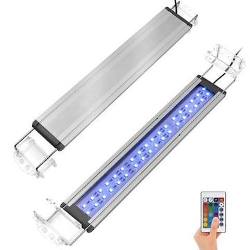 アクアリウム ライト 37~60CM 水槽用 LED  16色変換