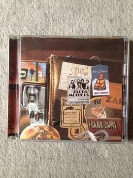 フランクザッパ 「オーヴァーナイトセンセーション」 国内盤CD FZ1993年承認マスター使用