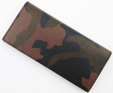 お買い得/新品 ポールスミス 人気迷彩柄 長財布 黒 n60