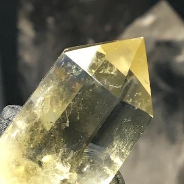 《置物No.434》ブラジル産 天然石シトリン 六角柱