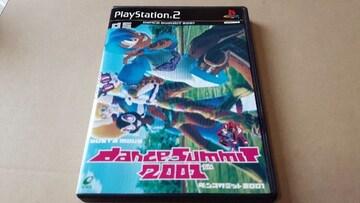 PS2☆ダンスサミット2001☆状態良い♪ENIX。