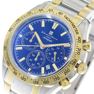 サルバトーレ マーラ 腕時計 メンズ SM18106-SSBLGD