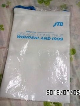 非売品DREAMS COME TRUE WONDERLAND 1999巾着